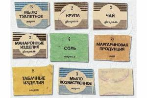 Продуктовые карточки