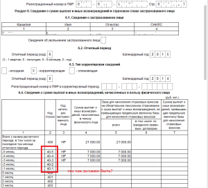 Регистрационный номер в ПФР