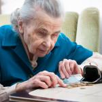 Пенсионерка
