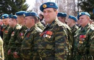 Ветеран боевых действий в Чечне